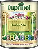 Cuprinol CUPGSDAZ1L 1 Litre Garden Shades - Dazzling Yellow