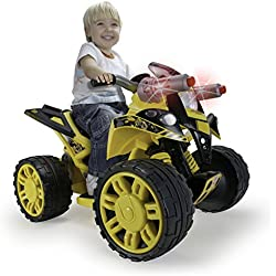 Injusa - Cuatrimoto The Beast Bumble Bee 12 V con sonidos y luces (76109)