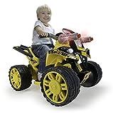 INJUSA - 76109 - Véhicule Électrique - Quad Transformers avec Sons Et Lumières - 12 V