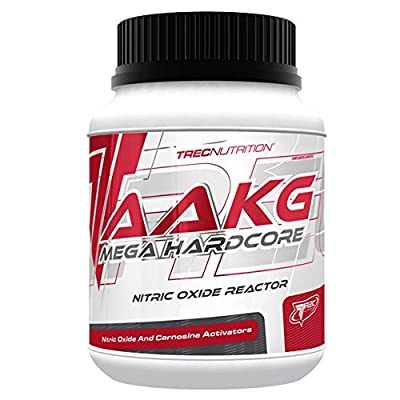 Trec Nutrition AAKG Mega Hardcore Capsules Muscle Pump NO Nitric Oxide from Trec Nutrition