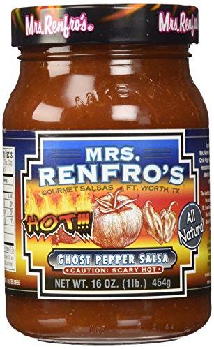 Preisvergleich Produktbild Mrs Renfro ghost pepper salsa 454g