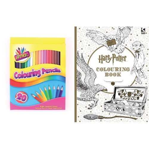 Artbox Colouring Pencils With Harry Potter Book