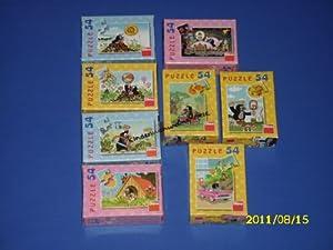 Dino Toys 331068 Little Mole - Puzzle (tamaño pequeño), diseño de Rompecabezas