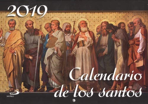 Calendario pared de los santos 2019 (Calendarios y Agendas)