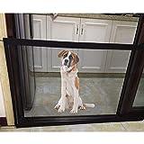 Teepao Hundegitter, faltbares Sicherheitsgitter, Haustiertür, faltbar, sicher zu montieren, 70 x 71 cm