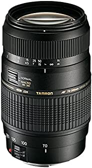 Tamron AF 70-300mm 4-5,6 Di LD Macro 1:2 digitales Objektiv (62mm Filtergewinde) für Canon