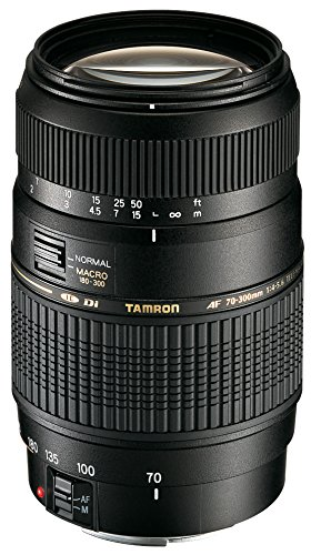 Tamron Objectif AF 70-300mm F/4-5,6 Di LD IF Macro 1/2  - Monture Cano
