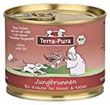 Terra-Pura Bio Kräuter Kräutermischung für Hunde Jungbrunnen für Senioren ältere Hunde