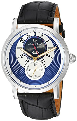 Lucien Piccard Men's Analogue Quartz Watch with Leather Strap LP-40043-03