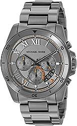 Michael Kors Chronograph Grey Dial Mens Watch - MK8465