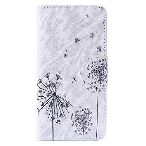 Nancen Compatible with Handyhülle Galaxy A5 2016 / SM-A510F (5,2 Zoll) Handy Lederhülle, Flip Case Wallet Cover with Stand Function, Folio Bookstyle Handytasche