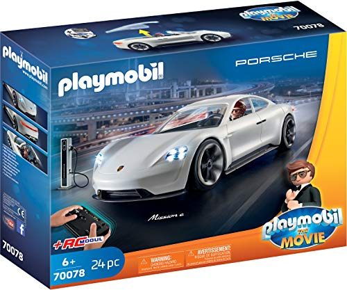 PLAYMOBIL:THE MOVIE 70078 Rex Dasher's Porsche Mission E, Ab 5 Jahren