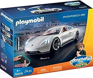 PLAYMOBIL: THE MOVIE Porsche Mission E y Rex Dasher, a Partir de 5 Años (70078)
