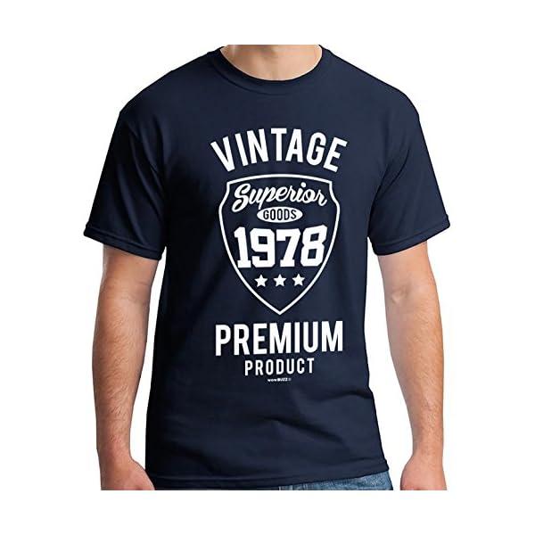 40th Birthday Gifts for Men Vintage Premium 1979 T-Shirt 513j 2BdVCFnL