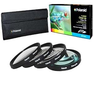 Polaroid Optics 55mm 4 Piece Close Up Filter Set (+1, +2, +4, +10)