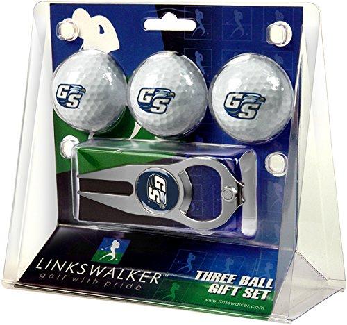 LinksWalker 3Georgia Southern eagles-3Ball Geschenk Pack mit Hat Trick Pitchgabel, Weiß, One size (Southern Golf Georgia Eagles)