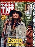 TELE TNT PROGRAMME [No 169] du 27/06/2009 - marie-ange casalta l'etoile mnotante zazie en papouasie