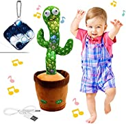 """Bluetooth Rechargeable Dancing Cactus Toy, Electric, Shaking, Recording, Singing, Talking toys, """"Repeat y"""