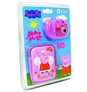 Ingo - Ppc001l - Appareil Photo Numérique Avec Housse - 3,1 Mpx - Peppa Pig