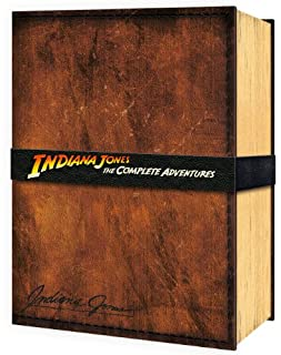 Indiana Jones The Complete Adventures (Limited Edition Collector's Set) [Blu-ray] [1981] [Region Free] (B0089TGJ18) | Amazon price tracker / tracking, Amazon price history charts, Amazon price watches, Amazon price drop alerts