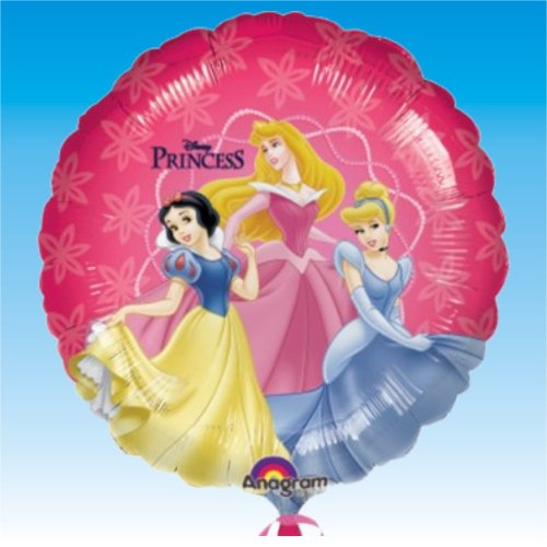 Lieferung Kostüm Luftballon - Disney Princess Amscan 0819301 18 Magic Folie Ballon