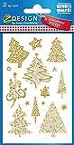 AVERY Zweckform 52273 Weihnachtssticker Weihnachtsbäume 30 Aufkleber hergestellt von AVERY Zweckform