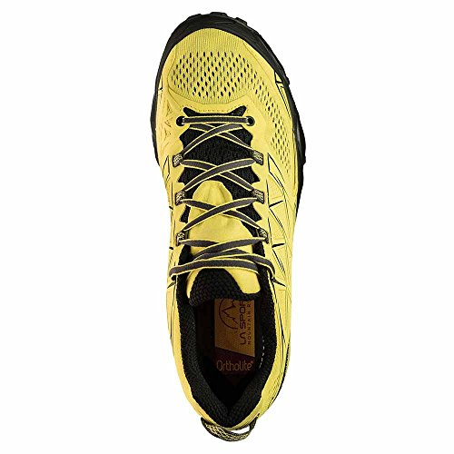 LA SPORTIVA AKYRA SHOES TRAIL RUNNING MOUNTAIN BLACK jaune