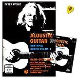 Acoustic Guitar - Rhythm a Rudiments No. 1 - Alles über Haltung, Bewegungsabläufe, Timing - Zutaten für die Gestaltungselemente eines Grooves - Ama Verlag 610421 9783899221398
