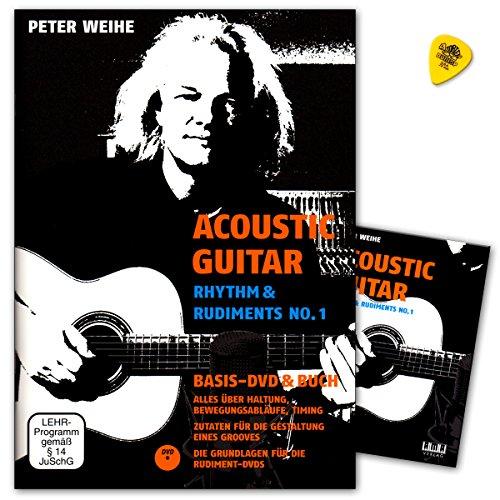 Acoustic Guitar–Rhythm a Rudiments No. 1–Todo A Través de postura, flujo de movimiento, Timing–Ingredientes para crear Elementos de un Grooves–Ama Verlag 6104219783899221398