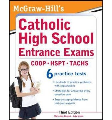 By Stewart, Mark ( Author ) [ McGraw-Hill's Catholic High School Entrance Exams, 3rd Edition (Revised) By Mar-2012 Paperback