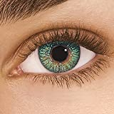 Alcon FreshLook Colors Green Monatslinsen weich, 2 Stück / BC 8.6 mm / DIA 14.5 / 0 Dioptrien