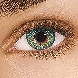 FreshLook Colors Green Monatslinsen weich, 2 Stück/BC 8.6 mm/DIA 14.5/+2 Dioptrien