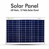 #8: Plaza 40 Watt Polycrystalline Solar Module Range 12 Volt Solar Panel for DC Connection