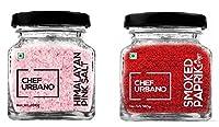 Chef Urbano Smoked Paprika Sweet 100 Gms + Himalayan Pink Salt 250 Gms Combo