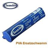 Spugna sostitutiva per lo spazzolone lavapavimenti CleanAid OneTouch EASY. Larghezza 27 cm.