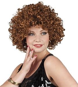 Curly Brown wig for woman (peluca)