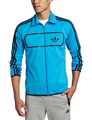 Adidas Jacke Street Diver TT Herren solar blue (F78092), S, blau