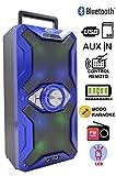 Altavoz Karaoke Bluetooth, ITK Altavoz con Karaoke cadena reproductora MP3, inalámbrico portátil...