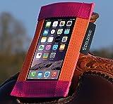 Westernsattel-Handytasche Orange-Pink