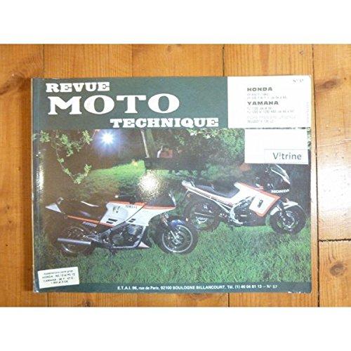 RMT0057 REVUE TECHNIQUE MOTO - HONDA VF400F 1983- VF500 et FII de 1984 à 1986 YAMAHA FJ1100 de 1984 et 1985