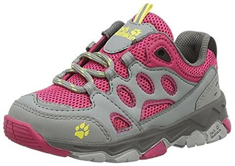 Jack Wolfskin Unisex-Kinder Mtn Attack 2 Low K Trekking-& Wanderhalbschuhe, Pink (Tropic Pink), 28 EU
