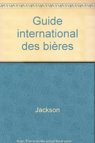 Guide international des bières par Jackson