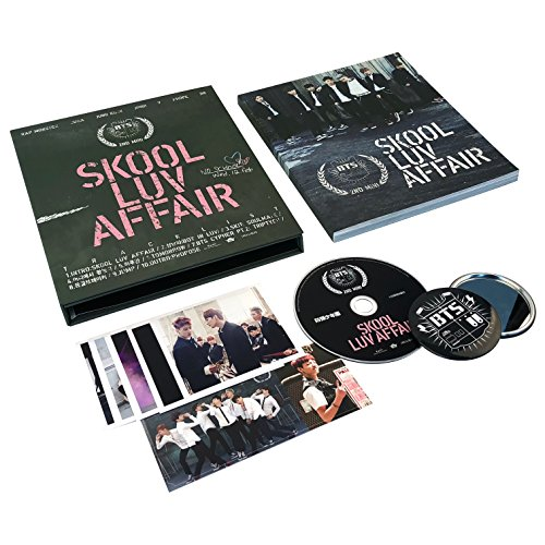 [ Skool Luv Affair ] CD + Photobook + Photocard + FREE GIFT / K-POP Sealed ()