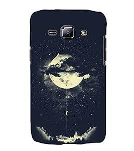 FUSON Amorous Exploits Love Moon 3D Hard Polycarbonate Designer Back Case Cover for Samsung Galaxy J2 (6) 2016 J210F :: Samsung Galaxy J2 Pro (2016)