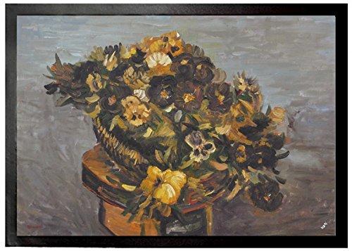Vincent Van Gogh - Pandereta Con Pensamientos, 1886 Felpudo Alfombrill