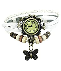 A&A CORP Dori Fashion Analog Watch White Color for Woman and Girls