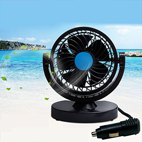 BestFire HX-T305 Wind Car Fan Car Air Conditioner Low Noise Test