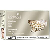Biotique Bio Pearl White Facial Kit, 65g