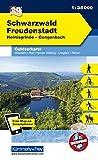 Deutschland Outdoorkarte 39 Schwarzwald Freudenstadt 1 : 35.000: Hornisgrinde-Gengenbach. Wanderwege, Radwanderwege, Nordic Walking, Skilanglauf (Kümmerly+Frey Outdoorkarten Deutschland) -