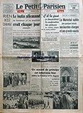 PETIT PARISIEN EDITION DE PARIS (LE) [No 23499] du 26/07/1941
